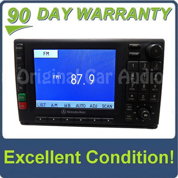 2000 - 2005 Mercedes-Benz ML Class Navigation Display Screen AM FM Radio CD Player Receiver