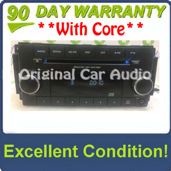 2007 - 2012 JEEP DODGE CHRYSLER OEM AM FM Radio Stereo MP3 CD Player Receiver RES