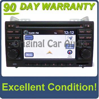 Nissan Radio Navigation USB CD Player MP3 AUX XM OEM