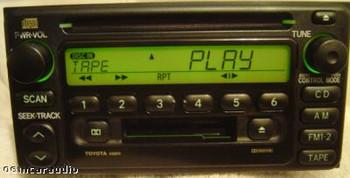 Toyota Radio Tape and CD Player 86120-2B680 2000-2004