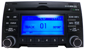 2009 - 2012 Hyundai ELANTRA Wagon XM Satellite MP3 AM FM Radio CD Player Receiver