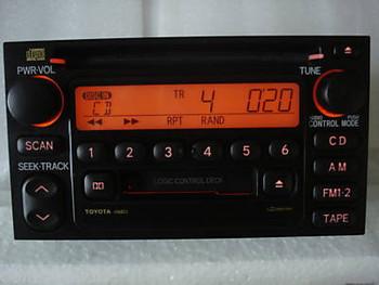 1995 - 2004 Toyota Tacoma OEM AM FM Radio Tape CD Player Receiver