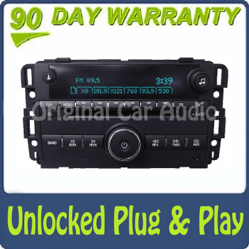 Unlocked Chevrolet Radio CD Player AUX Stereo AM FM OEM