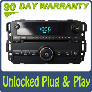 2009 2010 2011 2012 2013 GMC Chevy Chevrolet Impala OEM Radio Stereo AUX CD Player Receiver