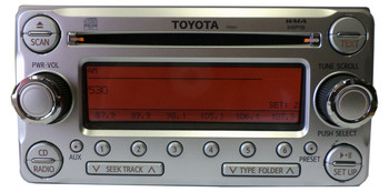 2011 - 2014 Toyota OEM FJ Cruiser Radio MP3 AUX CD Disc Player P10001 86120-35620