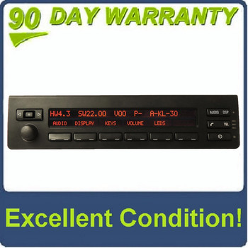 00 01 02 03 04 05 06 BMW X5 Radio Display Phone DSP Controls 2000 2001 2002 2003 2004 2005 2006