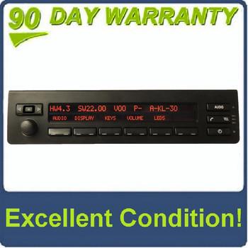 00 01 02 03 04 05 06 BMW X5 Radio Display Phone Controls 2000 2001 2002 2003 2004 2005 2006