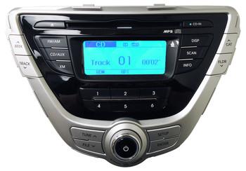 2011 2012 2013 Hyundai ELANTRA Radio XM Satellite CD Player