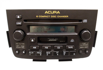Factory Refurbished ACURA MDX Radio Stereo Tape 6 Disc Changer CD Player 3TF0 3TF1 3TF2 3TF4 BOSE 2001 2002 2003 2004 39100-S3V-A310 , 39100-S3V-A320 , 39100-S3V-A330 , 39100-S3V-A340, 39100S3VA310 , 39100S3VA320 , 39100S3VA330 , 39100S3VA340
