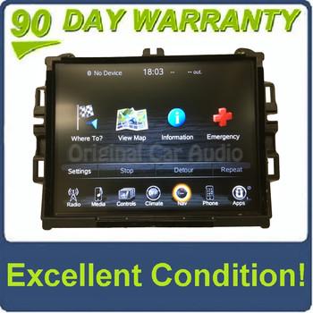 New 2013 - 2014 Dodge Ram Viper OEM VP4 CA Navigation Media Center LCD Touch Screen Radio Receiver