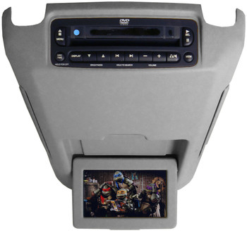 02 03 04 05 06 Ford Expedition Lincoln Navigator Mercury DVD Player Overhead Screen GREY