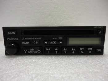 2000 2001 Used Mitsubishi Factory (OEM) Radio Stereo and CD Player W190