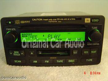 Toyota JBL Sequoia Radio 6 CD Changer 86120-0C210 2003 2004