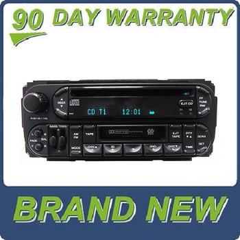 NEW 2002 - 2007 Chrysler Jeep Dodge Radio Stereo Cassette Tape CD Player RAZ