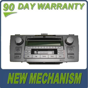 Re-manufactured NEW MECHANISM TOYOTA Solara JBL Satellite Radio Stereo 6 Disc Changer CD Player Tape Cassette A56831 2004 2005 2006 2007 2008