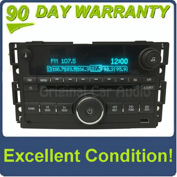 GMC Chevy HHR RDS Radio Stereo MP3 AUX CD Player OEM