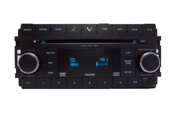 Chrysler Jeep Dodge Radio, AUX Port, Satellite, MP3, DVD and 6 CD Changer 07 08 09 2010 2011 2012