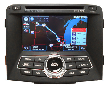 11 12 hyundai sonata oem navigation gps 7 speaker infinity premium sound  satellite xm radio cd player