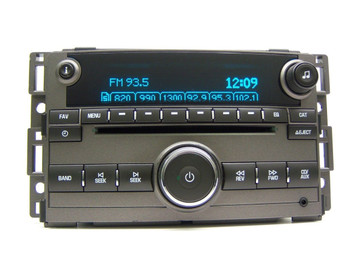 Chevy HHR Radio Stereo MP3 AUX CD Player Grey Receiver