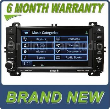 2011 - 2013 Jeep Dodge OEM RBZ MyGig Sirius Satellite radio CD MP3 DVD Aux Player