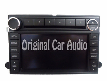 NEW 2008 2009 FORD Fusion MERCURY Milan NAVIGATION Touch Screen Radio AUX MP3 6 Disc CD Changer Player Stereo 08 09