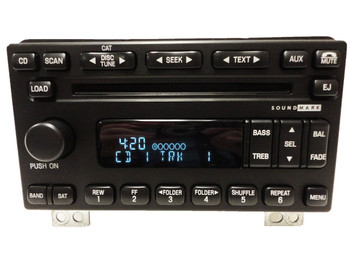 2005 LINCOLN Aviator Radio Stereo Receiver 6 Disc Changer CD Player SOUND MARK 2003 2004 2005