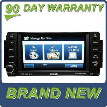 Brand New 2007 - 2013 Chrysler Jeep Dodge OEM MyGig MP3 AUX CD DVD Player Receiver High-Speed RBZ