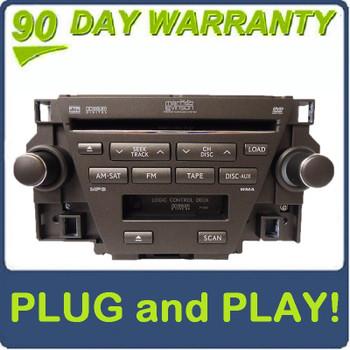 07 08 09 Lexus ES350 MARK LEVINSON Radio Tape 6 Disc Player CD Changer 86120-33740, P1505