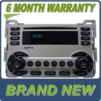 Chevy Equinox XM Radio DVD MP3 Player 6 CD Changer Stereo