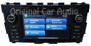 Nissan Radio GPS Navigation Nissan Connect MP3 CD Player