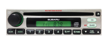 03 04 05 06 SUBARU Factory (OEM) Radio and CD Player Stereo Weatherband Legacy Forester Impreza OUTBACK  86201SA021 P126 1997 1998 1999 2000 2001 2002 2003 2004 2005 2006