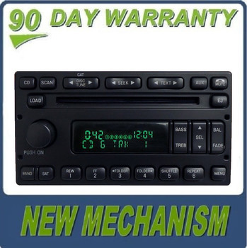 RE-Manufactured Ford Lincoln Mercury MP3 6 Disc CD Player Satellite 1998 - 2010 NEW MECH