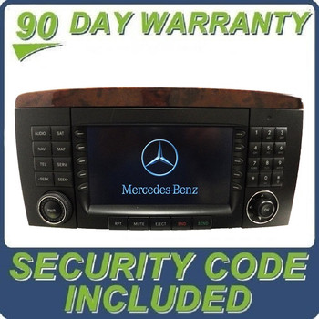 2006 - 2008 MERCEDES-BENZ R CLASS OEM Command Radio CD Player LCD Display Screen Monitor