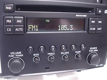 Volvo HU-650 Radio CD Player S60 V70 2005