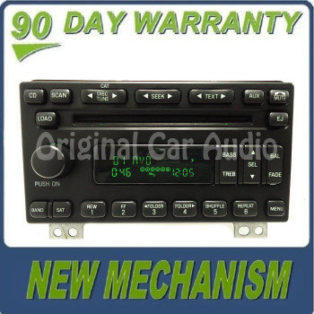 Remanufactured NEW MECH FORD Explorer Expedition Mustang MERCURY Mountaineer Radio Stereo 6 Disc Changer MP3 CD Player SIRIUS XM Satellite 2004 2005 2006 OEM