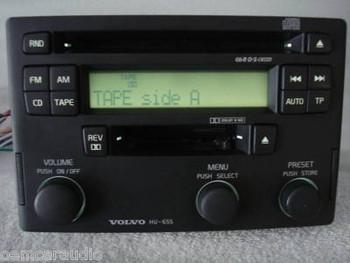 HU803 01 02 03 Volvo S60 V70 Radio 4 Disc Changer CD Player