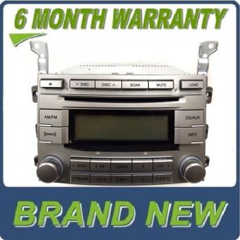 NEW HYUNDAI Veracruz Radio Stereo 6 Disc Changer MP3 CD Player XM Satellite 2009 2010 2011 2012