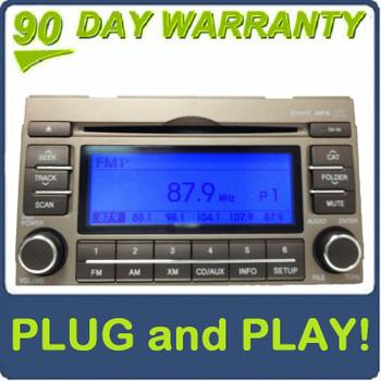 08 09 10 11 Hyundai Azera Single CD MP3 Player XM Radio 2008 2009 2010 2011 GOLD