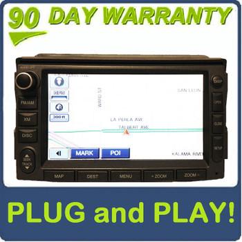 06 07 08 09 10 11 Hyundai AZERA LG NAVIGATION CD MP3 Player XM Radio GREY LAN-8672NH1