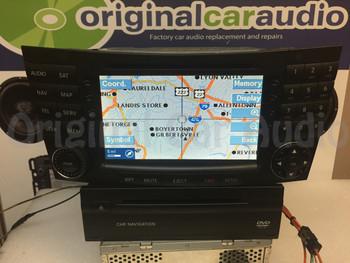 2004 - 2005 Mercedes Benz E-Class OEM Navigation Radio CD SAT Player Receiver