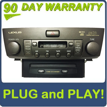 Lexus MP3 Player CD Player 6 CD Changer GPS Radio Stereo