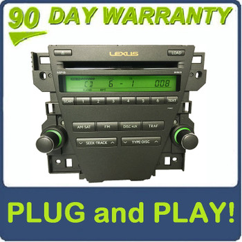 07 08 09 Lexus ES350 OEM Stereo 6 Disc MP3/WMA CD Changer Satellite Radio P1807