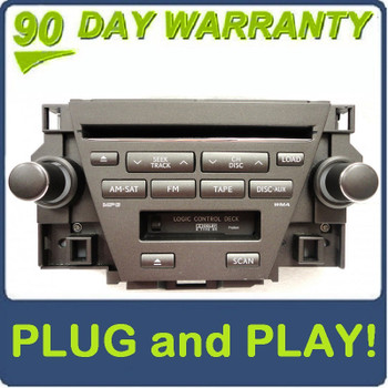 07 08 09 Lexus ES350 OEM Stereo 6 Disc MP3/WMA CD Changer Satellite Radio P6866