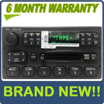 Brand New 1998 - 2003 Ford Ranger F150 E150 OEM Radio Tape Player