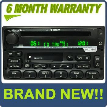 BRAND NEW 98 99 2000 01 02 03 04 05 Ford / Lincoln / Mercury RDS PREMIUM SOUND  Radio CD player