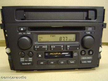 Acura TL 39101 SOK A110 M1 2TB0 1999 2000 2001 Radio CD Player BOSE 39100-S0K-A110