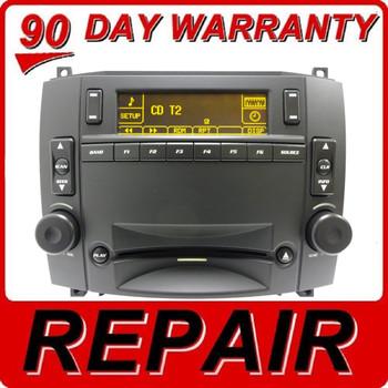 Cadillac Navigation Radio Screen MP3 6 CD Changer Amplifier