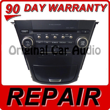 10 11 12 13 REPAIR YOUR ACURA MDX Radio Stereo Receiver 6 Disc Changer CD Player 2010 2011 2012 2013