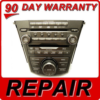 07 08 09 REPAIR YOUR ACURA MDX Radio Stereo Receiver Navigation HDD 6 Disc Changer CD DVD Player 2007 2008 2009