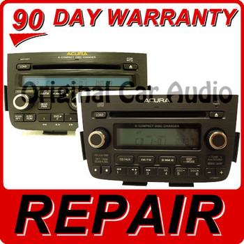 REPAIR 05 06 Acura MDX Radio 6 Disc CD Changer Player FIX 3TF6 3AF0 3TF7 1XF8